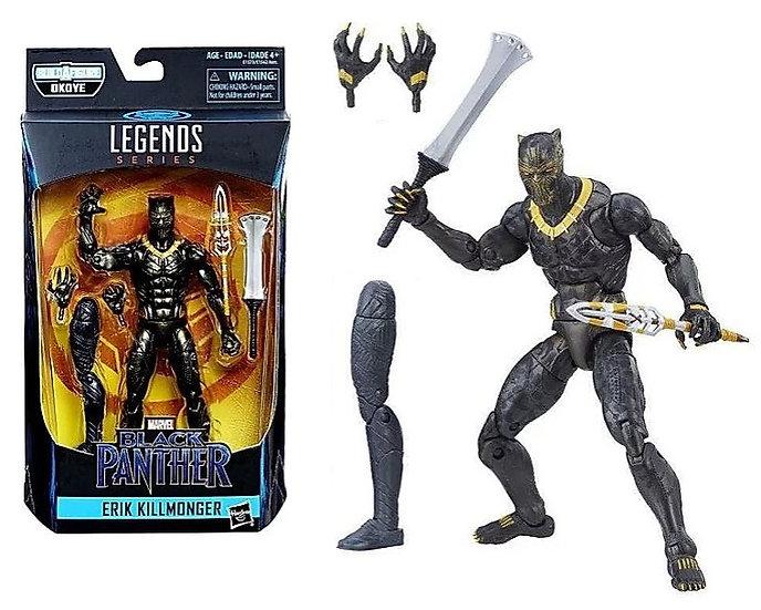Marvel Legends Black Panther Okoye Series Erik Killmonger Action Figure