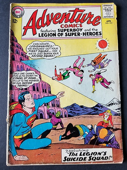 Adventure Comics 319 GD+