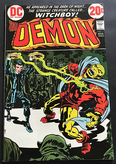 Demon (1972 1st Series) #7 VF+  [1st Witch Boy]