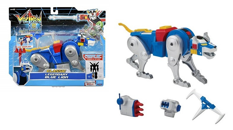Voltron Action Figure Toy Legendary Blue Lion