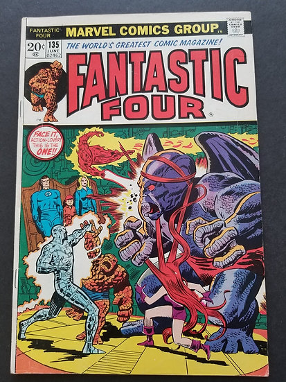 Fantastic Four (1961 1st Series) #135 VF