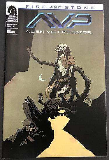 Alien vs. Predator Fire and Stone (2014 Dark Horse) #1