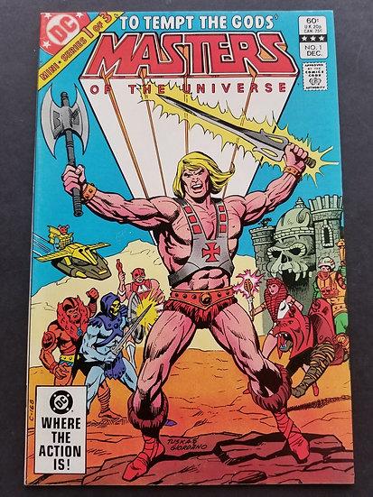 Masters of the Universe (1986 Marvel/Star Comics) #1 NM- [Mini Series.]