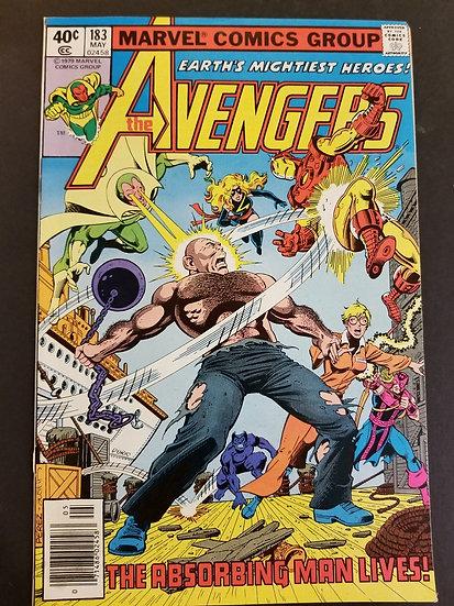 Avengers (Marvel ) #183 VF/NM [Ms. Marvel joins Avengers.]