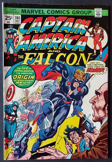 Captain America 180 VF [1st Nomad]