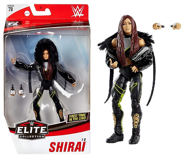 WWE Elite Collection Series 79 Lo Shira Wrestling Figure