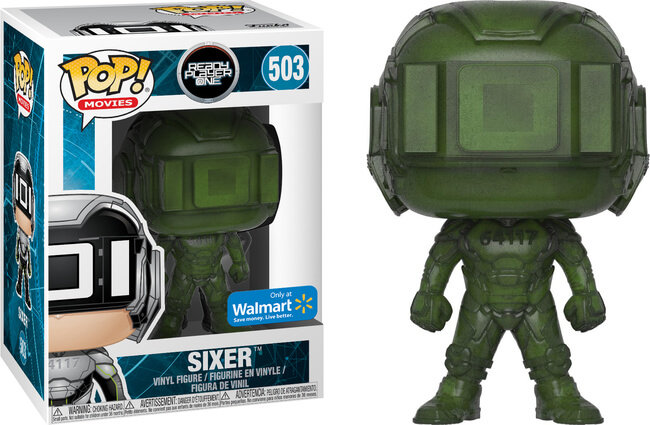 Funko Pop Ready Play One Sixer 503 Walmart Exclusive