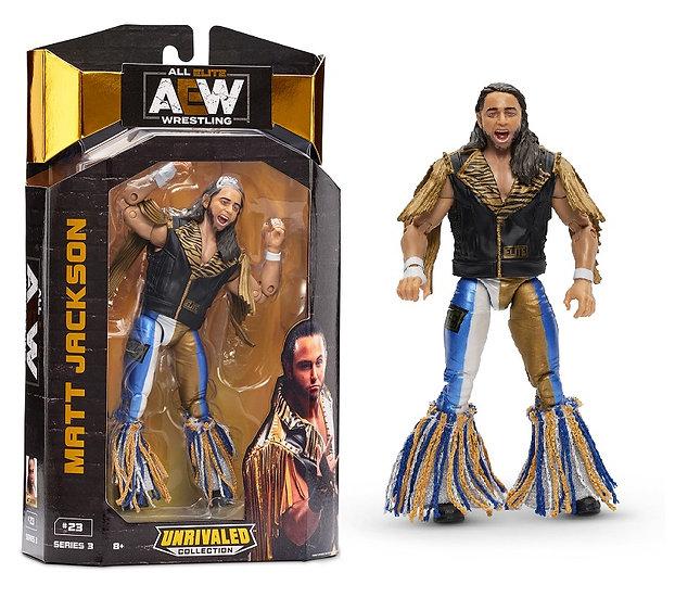 AEW Unrivaled Series 3 Matt Jackson Wrestling Figure