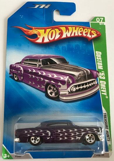 Hot Wheels Treasure Hunts 09 Custom '53 Chevy - 049/190 New Sealed