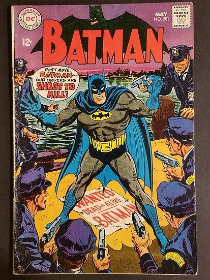 Batman (1940) #201 FN