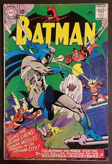 Batman 178 VG