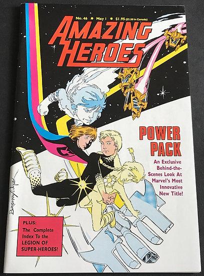 Amazing Heroes #46 VF/NM