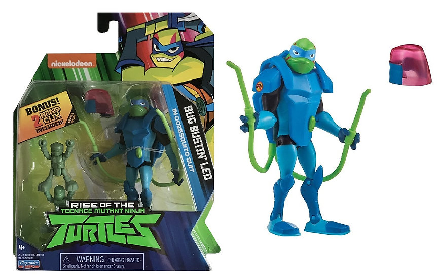 Rise of the Teenage Mutant Ninja Turtles Bug bustin'Leo In Oozesquito Suit