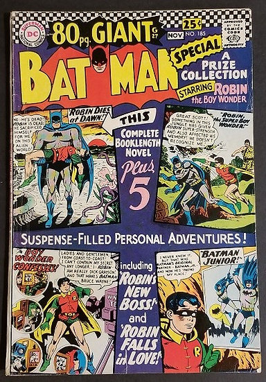 Batman 185 VG
