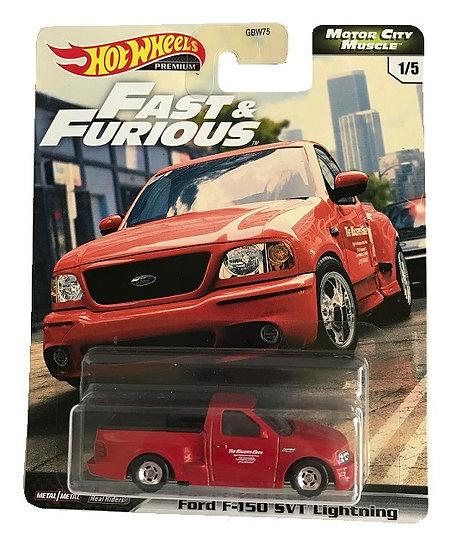 Hot Wheels Premium Fast & Furious Ford F-150 SVT Lightning