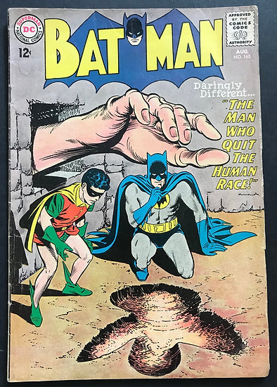 Batman #165 VG+ [1st Patricia Powell]
