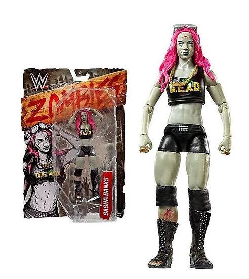 WWE Zombies Sasha Banks Zombified Action Figure
