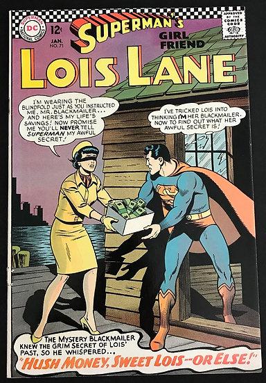 Superman's Girlfriend Lois Lane (1958) #71 FN [Bottom Staple Detached]