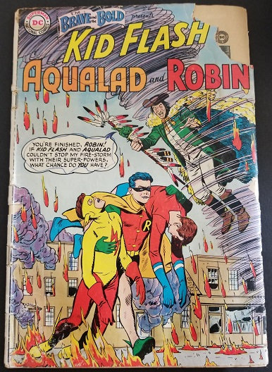 Brave and the Bold (1955 1st Series DC) #5 GD- [1st appearance of Teen Titans.]