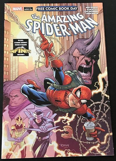 Amazing Spider-Man Infinity Watch (Marvel) #0 VF [ FCBD 2020]