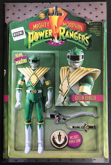 Mighty Morphin Power Rangers (2016)#1 VF/NM [Green Ranger Action Figure Variant]