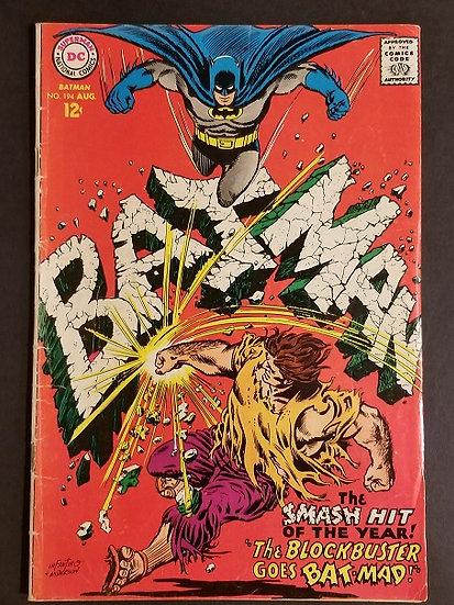 Batman #194 VG