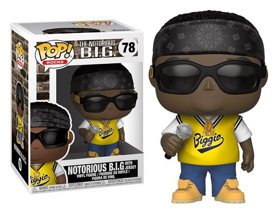 Funko Pop Notorious B.I.G With Jersey 78
