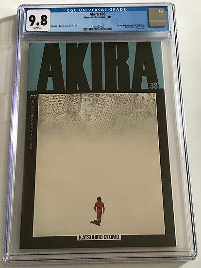Akira (Marvel/Epic Comics) #38 CGC 9.8 White Pages