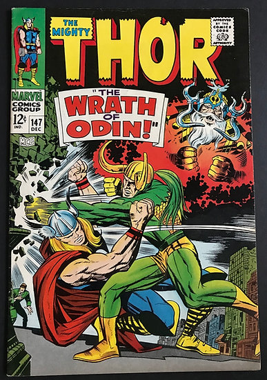Thor (1962-1996 1st Series Journey Into Mystery) #147 VF