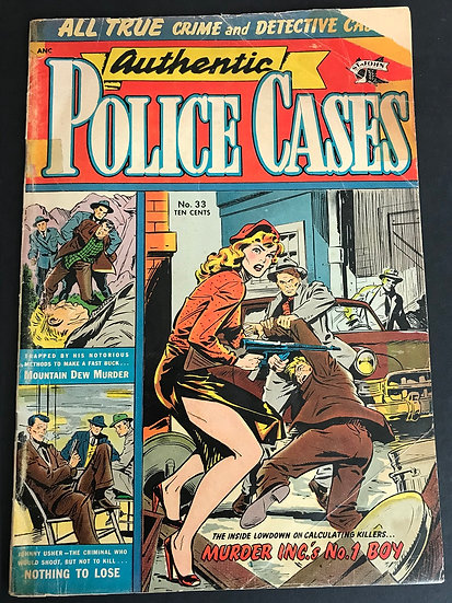 Authentic Police Cases (1948) #33 GD-