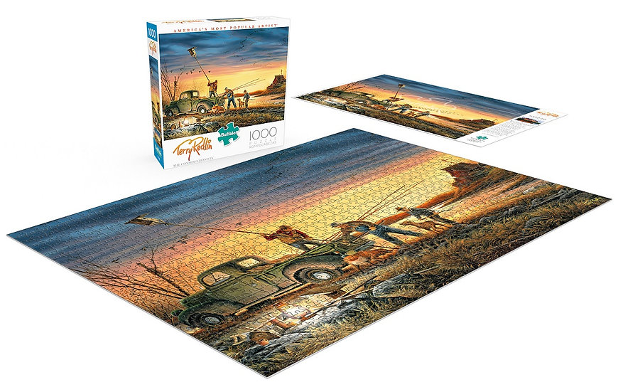 Buffalo Games Terry Redlin The Conservationists 1000 Pcs Jigsaw Puzzle