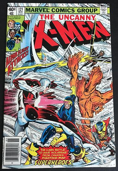 X-Men (1963 1st Series) Mark Jewelers #121 VF- [Jewelers]
