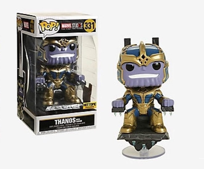 Marvel Studios 6 inch Thanos With Throne 331 Hot Topic Exclusive