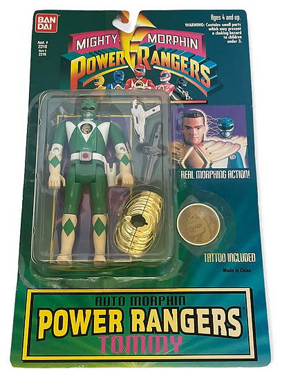 1994 Mighty Morphin Power Rangers Auto Morphin Tommy