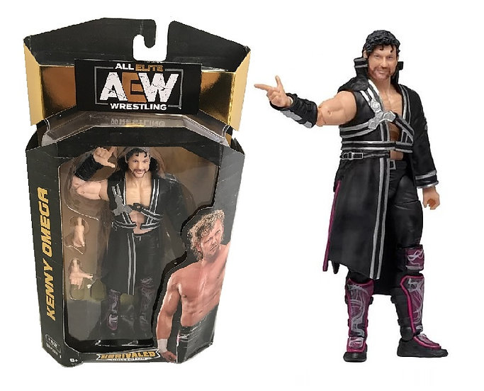 AEW Unrivaled Series #1 Kenny Omega Wrestling Figure [Damaged Box]