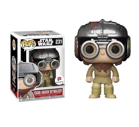 Funko Pop Star Wars Young Anakin Skywalker 231 Walgreens Exclusive