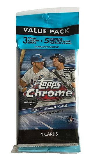 2020 Topps Chrome MLB Fat Pack