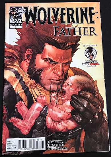 What If Wolverine Father (Marvel) #1 VF/NM