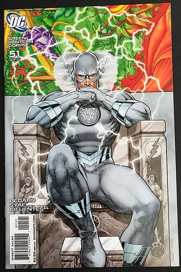 Green Lantern Corps (DC) #51 NM [White Flash Variant]