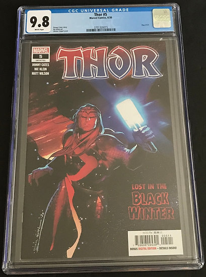 Thor (2020 6th Series) #5 CGC 9.8 White Pages