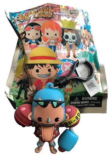 Shonen Jump One Piece Franky 3-D Figural Bag Clip