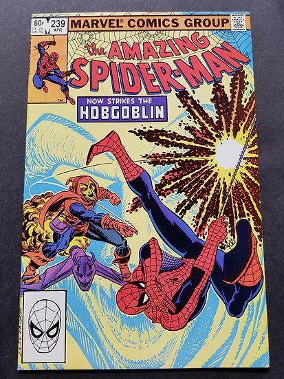 Amazing Spider-Man (Marvel) #239 VF/NM [2nd appearance of Hobgoblin.]
