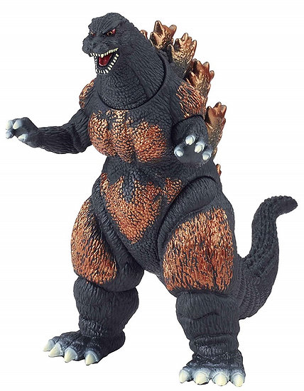 Bandai Godzilla Movie Monster Series Burning Godzilla Vinyl Figure