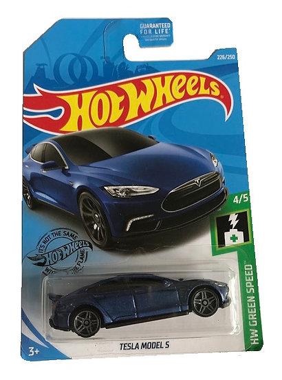 Hot Wheels HW Green Speed Tesla Model S