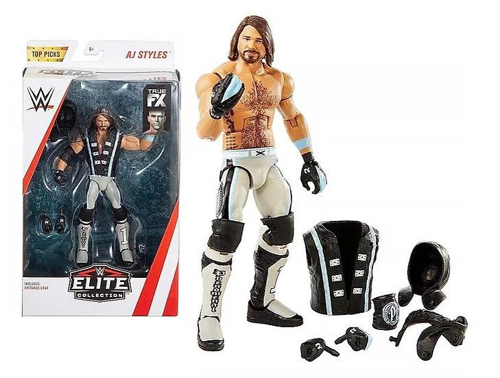WWE Top Picks Elite Collection AJ Styles Figure