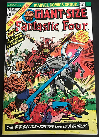 Giant Size Fantastic Four (1974) #3 NM-