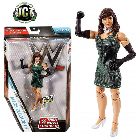 WWE Elite Collection Then Now Forever Series Miss Elizabeth Action Figure