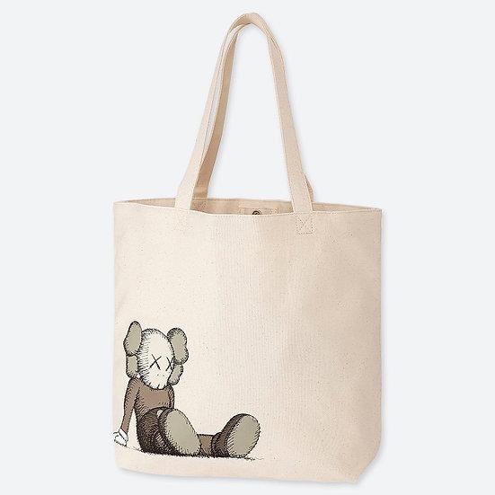 Kaws Uniqlo Tote Bag From Japan