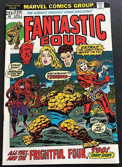 Fantastic Four 129 FN/VF