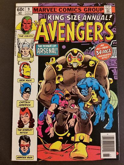 Avengers (1963 1st Series) Annual #9 VF/NM